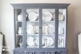 french provincial china cabinet makeover in 2 easy steps blesserhouse com
