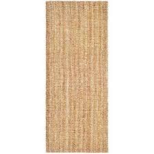natural fiber beige 3 ft x 6 ft runner rug