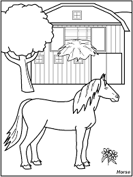 farm coloring pages getcoloringpages free farm animals coloring pages