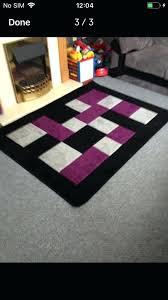 purple and black rug large purple black grey rug purple black rugby shirt purple and black rug