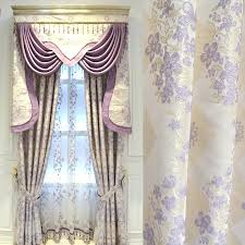 modern warm purple bedroom curtain finished european style curtains for living room bedroom custom girls shading