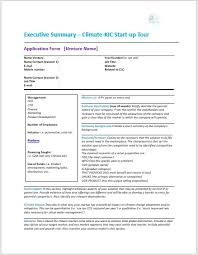 Format For An Executive Summary Executive Summary Format Archives Best Samples