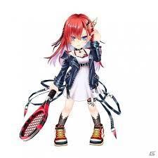 白 猫 テニス キアラ