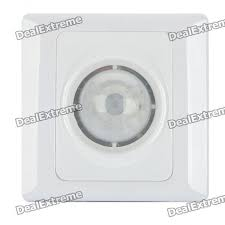 wall mount automatic ir motion sensor light switch ac 100 250v three wire system