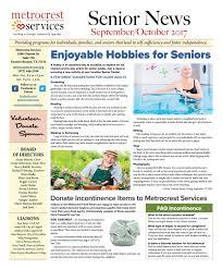 Metrocrest Services Senior News September October Edition By