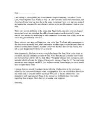 cruise ship complaint letter png cruise ship complaint letter letter of complaint