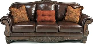 brown leather sofa with wood trim marvelous wood and leather sofa with real leather sofas s brown leather sofa with wood trim