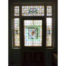 amazing stained glass exterior door front 5 24 p a c e window light insert uk french paint wood