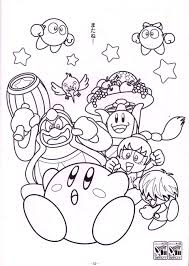 Coloring Pages Kirby Bucketsl L