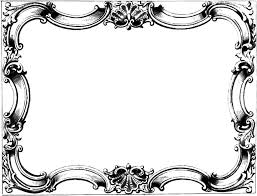 vintage frame border. Valuable Free Vintage Frame Clipart 28 In Plant With Border