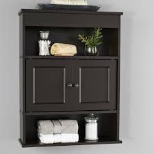 bathroom wall cabinet storage shelf