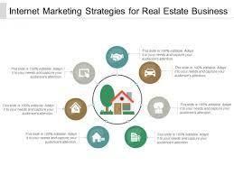 Powerpoint Real Estate Templates Internet Marketing Strategies For Real Estate Business Ppt