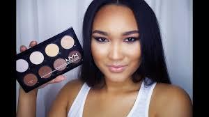 nyx cosmetics highlight contour