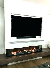 electric linear fireplace slimline dimplex 50 blf50 reviews with tv above images