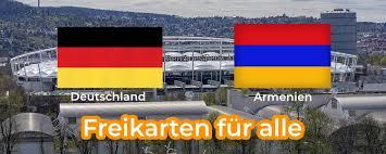 Botschaft der republik armenien in deutschland. Gratis Freikarten Furs Fussball Landerspiel Deutschland Armenien
