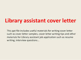 Cover Letter For Librarian Amazing Library Assistant Cover Letter