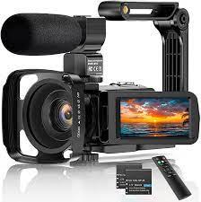 Videokamera 2.7K Camcorder UHD 36MP Vlogging Kamera für: Amazon.de: Kamera