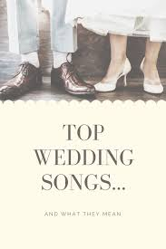 If you create a wedding playlist of fun dance songs with your guests in mind, you can rest assured they'll be out there cutting a rug and maybe even kicking off their shoes. Top Wedding Songs And What They Mean Ever After