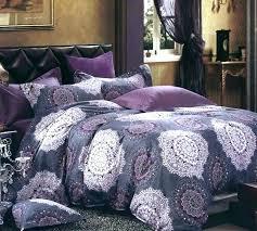 purple duvet sets quilt set cover queen comforter oversized bedding twin dark bedspread king size c
