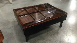 widely used coffee tables with glass top display drawer with regard to coffee table r e h kennedy