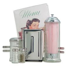 American Diner Kitchen Accessories Diner Tabletop 50s Style Accessories Set Kitchen Gift Sets