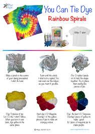 Tie Dye Rubber Band Patterns