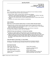 clinical dietitian informaticist resume example httpresumesdesigncom clinical clinical dietitian resume