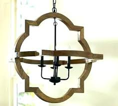 wood beam chandelier reclaimed barn to chand