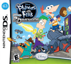 amazon phineas and ferb across the 2nd dimension nintendo ds disney interactive video games