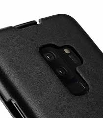 melkcopremium leather case for samsung galaxy s9 plus jacka type black