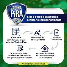 Prefeitura de Piracicaba - AGENDAMENTO ONLINE DE VACINAS A Prefeitura  colocou no ar hoje o site VacinaPira para agendamento de vacinação. Podem  agendar a vacina idosos com 80 anos ou mais e
