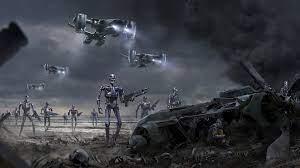 Wallpaper : Terminator, apocalyptic ...