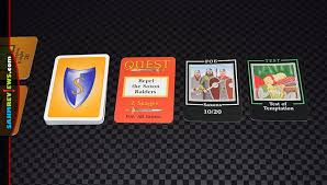 quests of the round table is more than a standard trick taking card game