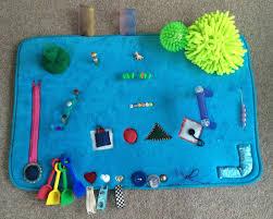 diy sensory activity mat for babies
