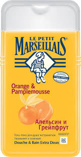 Le Petit Marseillais <b>Гель</b>-<b>пена для душа</b> Грейпфрут и апельсин ...