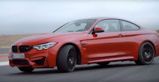 2018 bmw m4. modren 2018 2018 bmw m4 facelift coupe and cabrio hit the track in official videos throughout bmw m4