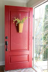 painting a front door | Modern Masters Cafe Blog