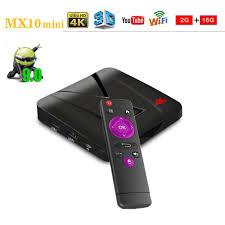 <b>MX10 Mini Android</b> 9.0 TV Box 2GB RAM 16GB ROM RK3328 Quad ...