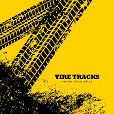 tire track background.  Background Tire Tracks On Grunge Yellow Background Free Vector For Track Background D