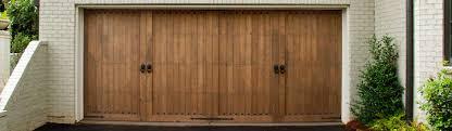 wood garage doorsCustom Wood Garage Door