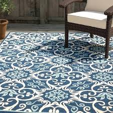 found it at main navy indoor outdoor rug blue and white rugs