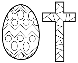 Printable Coloring Pages coloring pages of the cross : Easter Stained Glass Coloring pages Free Printable Coloring Pages ...