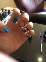 Tennessee Football Nail Designs Unfinished Version Of The Tennessee Titans Football Nail