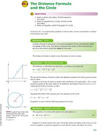 definitions circle a circle is the set of all points in the plane equidistant from