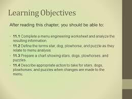 Chapter 11 Menu Engineering Ppt Video Online Download