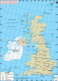 uk latitude and longitude map
