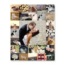 wedding thank you card ideas on personalized photo collage wall art with wedding thank you card ideas custom designs from pear tree