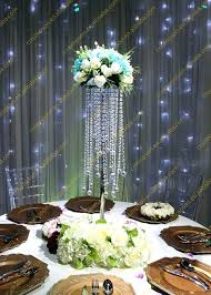 table top chandelier crystal table top chandelier centerpieces for weddings table whole wedding crystal chandelier