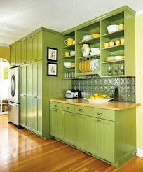 Sage Green Kitchen Cabinets With Black Appliances Environmentally
