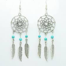 Dream Catcher Earings New Vintage Dream Catcher Earrings The Enchanted Forest